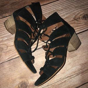 Lucky Brand Genevieve lace up sandals